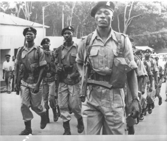 King's African Rifles, Blantyre, Nyasaland, 1959